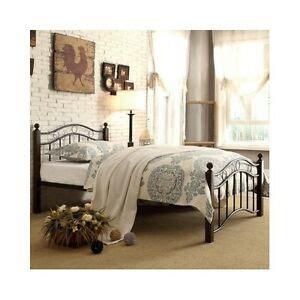 Bed Frames Cheap by Platform Bed Frame Black Headboard Footboard Metal