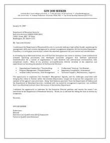Cover Letter Government by Government Resume Cover Letter Exles Http