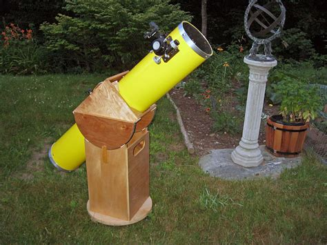 make a home stellafane build a dobsonian telescope