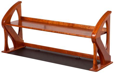 artistic computer shelf caretta workspace side table caretta workspace