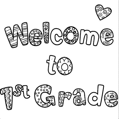 first grade coloring pages free az coloring pages