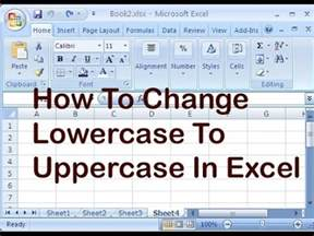 changing text in excel 2010 convert text to