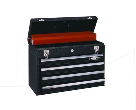 Craftsman Drawer by Craftsman Black 4 Drawer Metal Chest Store Tools With Sears