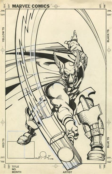 love comic covers beta ray bill by walter simonson other dwo comic art stuff beta ray bill originals and art on