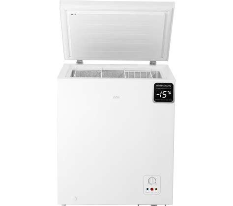 Home Freezer buy logik l142cfw17 chest freezer white free delivery