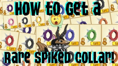 rare spike code no joke works youtube how to get a rare spiked collar very easy youtube