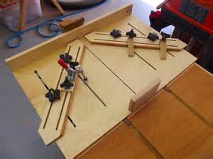 Flip Top Tool Bench Super Cross Cut Table Saw Sled By Jake Brain