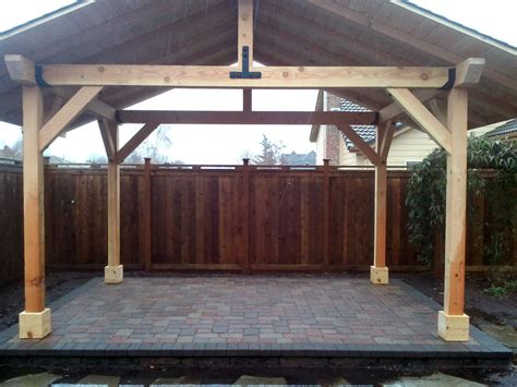 outdoor wood structures dominion landscape eugene
