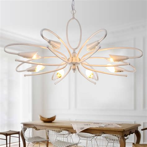 light white chandelier for bedroom modern brass also black american modern simple creative chandelier with led light