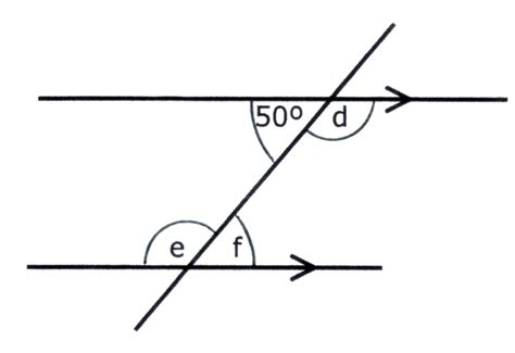 Interior Angles On Parallel Lines by Year 8 Angles