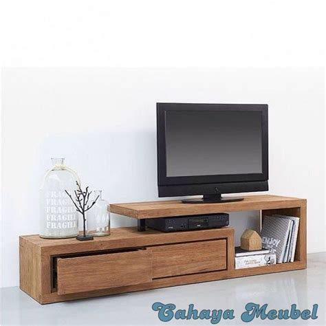 Bufet Tv Minimalis Kombinasi 03 bufet tv minimalis terbaru cahaya mebel jepara