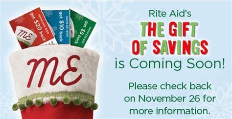 rite aid walgreens updates saving with rite aid gift of savings update my frugal adventures