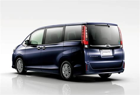 luxury minivan 2016 forbidden fruit toyota esquire hybrid luxury minivan