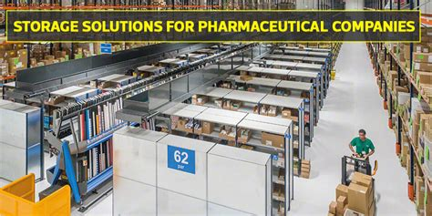 smart  safe storage solutions  pharmaceutical companies