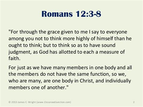 Romans Chapter 3 Outline by Understanding The Seven Motivational Gifts In Romans 12