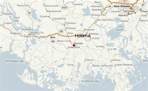 Houma Louisiana Map by Houma Location Guide