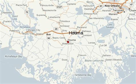 zip code map houma la houma louisiana map bnhspine com