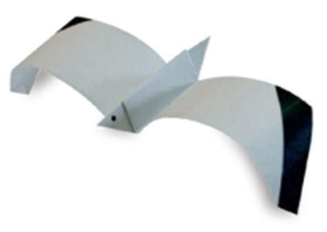 origami gabbiano origami di animali