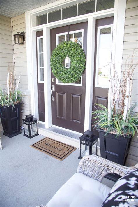 summer front porch decor ideas setting