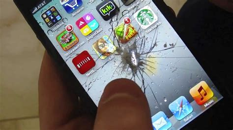 iphone  drill test   destroy  iphone  destruction crash test youtube
