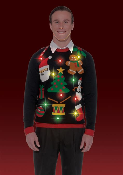 everything lighted sweater