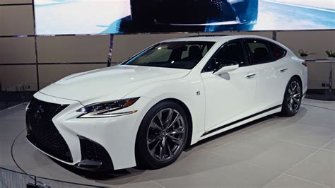 lexus is f sport 2018 2018 lexus ls 500 gets the f sport treatment autoblog