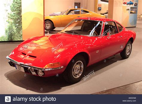 Classic Opel Cars by Opel Gt Classic Car Stock Photo Royalty Free Image