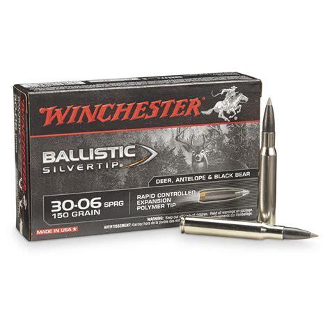 winchester supreme winchester supreme ballistic silvertip 30 06 springfield