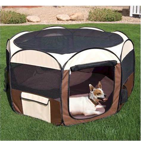 puppy playpen fold up pet excercise pen playpen tent large cat ad 1543450 addoway