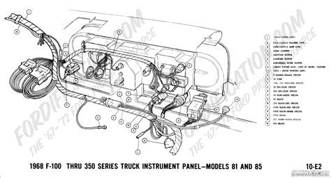 car engine manuals 1995 ford f series instrument cluster ford truck technical drawings and schematics section h wiring diagrams