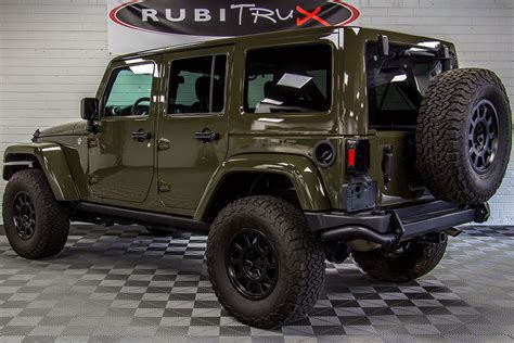 jeep tank for 2015 jeep wrangler rubicon unlimited tank green