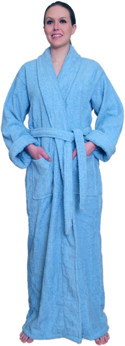 full length bathrobe full length terry cloth robe for 39 99 100 cotton