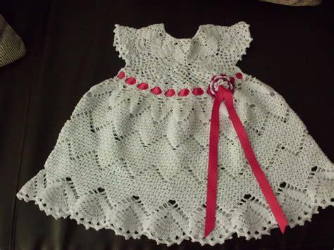 vestidos tejidos a crochet para bebes vestidos para ni 241 a y bebe tejidos a crochet bs 460 000