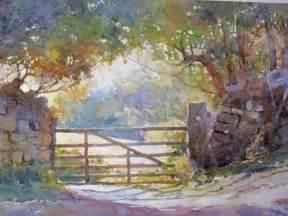 Watercolour Landscape Artists Uk Painting Atmospheric Watercolour Landscapes With Robert