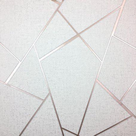 fine decor quartz fractal rose gold wallpaper fd42282