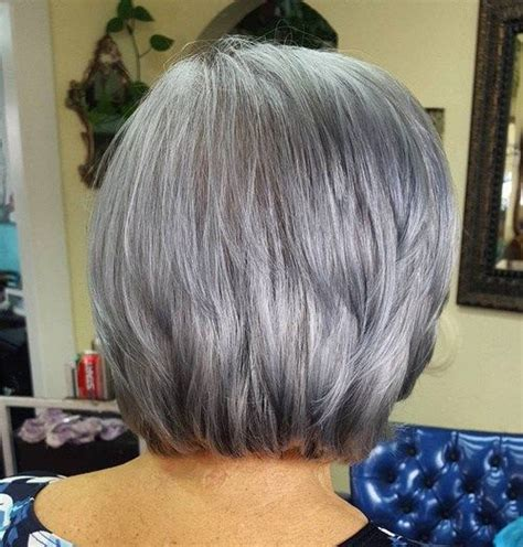 medium haircuts for gray hair 17 best images about hair cuts on