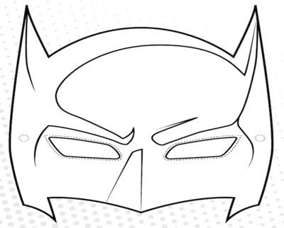 printable batman mask pattern mask template coloring page batman superhero grig3 org
