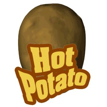 how not to conduct an effective job search: the hot potato