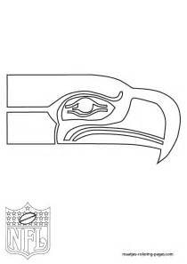seahawks color seattle seahawks coloring pages picture to pin on