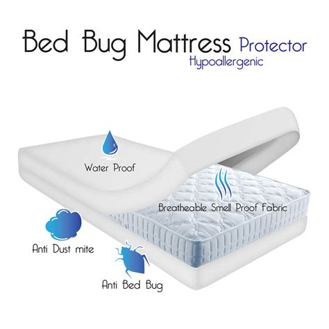 bed bug mattress protector bed bug dust mite cotton mattress protector