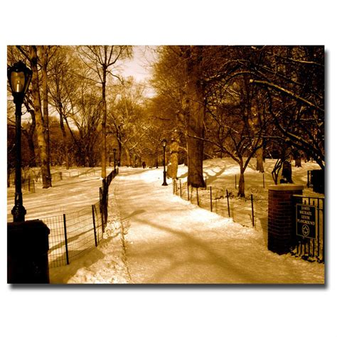 quot winter playground quot canvas art by ariane moshayedi
