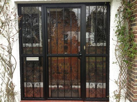 rsg security door gates fitted externally   main