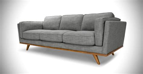 gray mid century modern sofa timber mid century modern