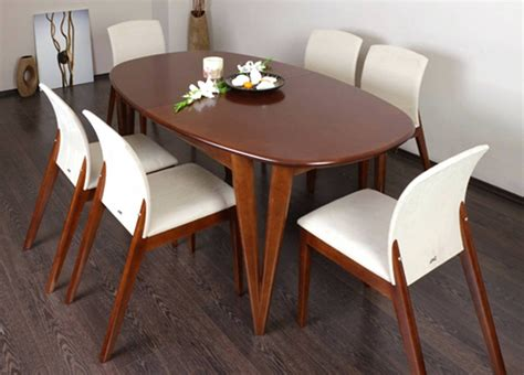 Dining Table Design India 15 Best Ideas Of Oval Shaped Dining Table Designs