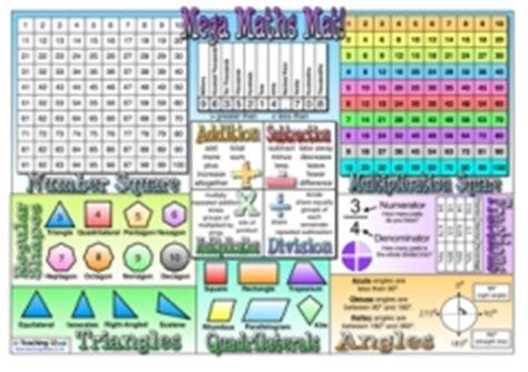 1 germ free mats mega maths mat teaching ideas