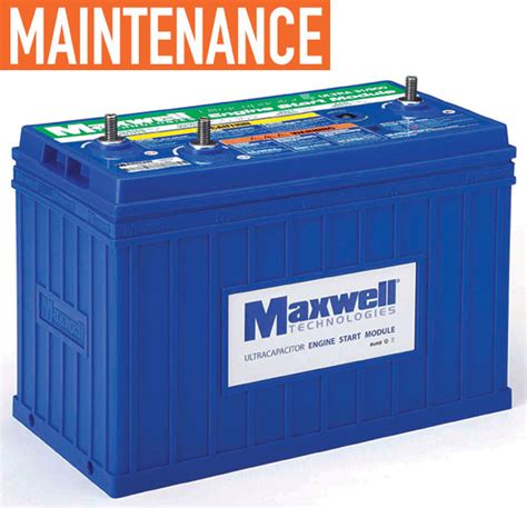 maxwell capacitors truck from delivery trucks to forklifts modern worktruck solutions