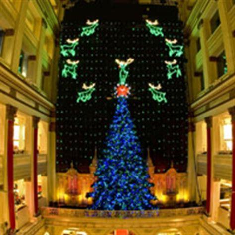 macy s christmas light show macy s christmas light show at macy s center city visit