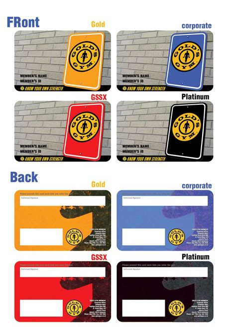 Gym Membership Gift Card - gold s gym gym membership and gym on pinterest
