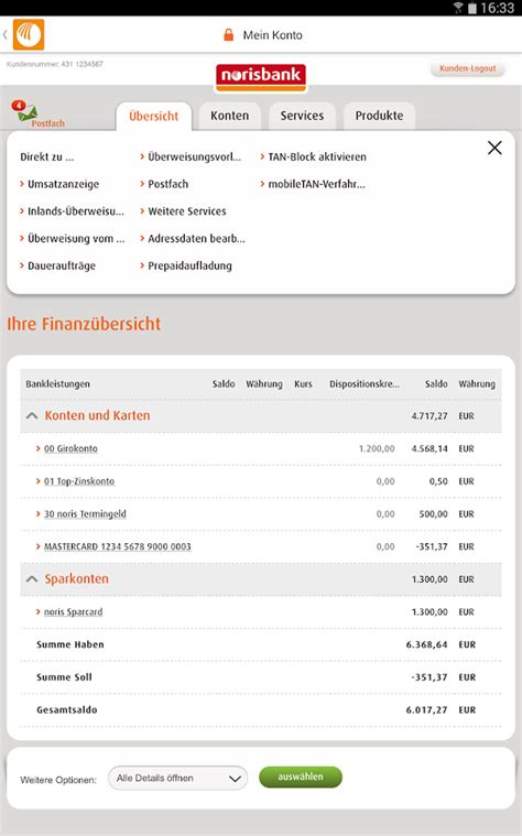berliner bank app norisbank mobile consors cfd