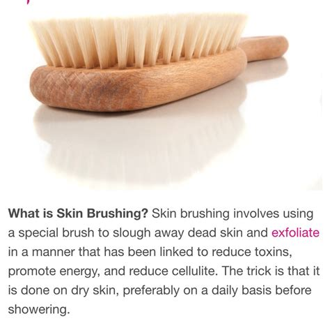 How To Skin Brush For Detox by By Mahwash Ahmed 492 Friends 19120 Followers